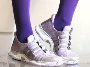 Спортивные новости: крутые кроссовки своими руками. Ярмарка Мастеров - ручная работа, handmade.