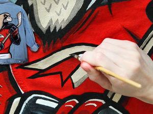 Роспись джинсовки акрилом (Спидпейнт). Ярмарка Мастеров - ручная работа, handmade.