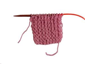 Вяжем узор фигурная резинка спицами. Ярмарка Мастеров - ручная работа, handmade.
