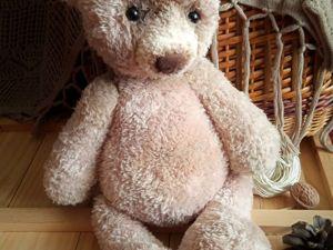 Мальчик или девочка? Мишка из YarnArt «Mink»(имитация меха). Ярмарка Мастеров - ручная работа, handmade.