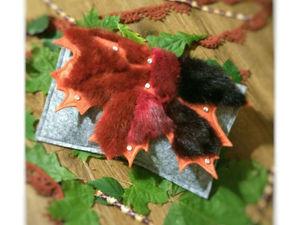 Шьём модный осенний клатч «Осенний шик». Ярмарка Мастеров - ручная работа, handmade.