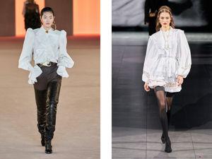 Белая романтика: вдохновляемся моделями фантазийных рубашек. Ярмарка Мастеров - ручная работа, handmade.