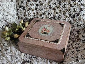 Подарочная коробка для новогодних шаров. Часть 1. Ярмарка Мастеров - ручная работа, handmade.