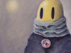 День 186. Картина маслом  «Оттепель». Ярмарка Мастеров - ручная работа, handmade.
