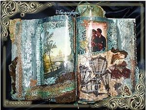 Сувенирная книга для украшения интерьера. Ярмарка Мастеров - ручная работа, handmade.