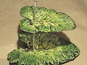 Мастер-класс по изготовлению оригинального блюда «Листья». Ярмарка Мастеров - ручная работа, handmade.