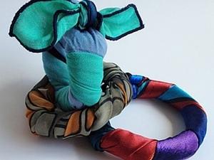 Как легко и быстро сделать браслет из платка. Ярмарка Мастеров - ручная работа, handmade.