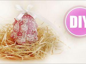 Мастерим Пасхальное яйцо из полимерной глины. Ярмарка Мастеров - ручная работа, handmade.