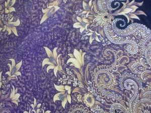 Дарим вторую жизнь павловопосадскому платку в валяных изделиях. Ярмарка Мастеров - ручная работа, handmade.