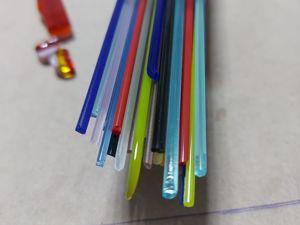 Спагетти, стрингеры или лапша. Что это такое и как сделать самим. Фьюзинг стекла. Ярмарка Мастеров - ручная работа, handmade.