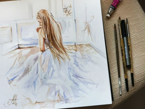 ТРЕНДЫ. Актуальные техники в живописи и что я рисую. Ярмарка Мастеров - ручная работа, handmade.