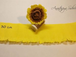 How to Make a Gerbera of Corrugated Paper. Livemaster - handmade