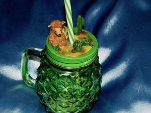 Видео мастер-класс: декор кружки «лама и кактусы». Ярмарка Мастеров - ручная работа, handmade.