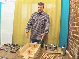 Делаем самодельный круглопалочный станок. Часть 1. Ярмарка Мастеров - ручная работа, handmade.