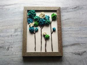 Лепим картину из пластилина «Воспоминание о лете». Ярмарка Мастеров - ручная работа, handmade.