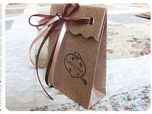 Пакетики из крафт-бумаги. Ярмарка Мастеров - ручная работа, handmade.