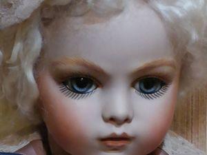 Прекрасная реплика антикварной куклы Брю моего авторства. Ярмарка Мастеров - ручная работа, handmade.
