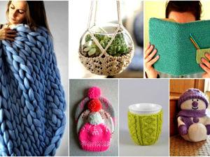 20 идей вязаных новогодних подарков, которые можно сделать своими руками. Ярмарка Мастеров - ручная работа, handmade.