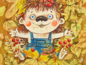 Здравствуй,Осень!. Ярмарка Мастеров - ручная работа, handmade.