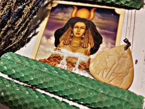 Хатхор — богиня женственности, красоты, любви. Ярмарка Мастеров - ручная работа, handmade.