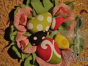 Пасхальный венок (используем остатки всего или новое применение старых CD-дисков). Ярмарка Мастеров - ручная работа, handmade.