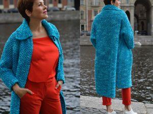 Презентация пальто  «Северная Венеция». Ярмарка Мастеров - ручная работа, handmade.
