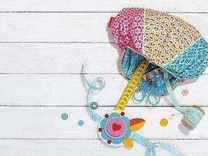 Печворк-ридикюль и браслет из фетра: мастер-класс от журнала «Mollie Makes». Ярмарка Мастеров - ручная работа, handmade.