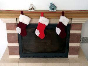 Шьем новогодние носки для подарков. Ярмарка Мастеров - ручная работа, handmade.