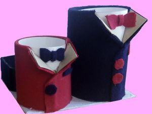 Мастерим органайзер «Стиляга» из картона. Ярмарка Мастеров - ручная работа, handmade.