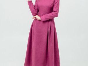 Платье Ежевика. Ярмарка Мастеров - ручная работа, handmade.