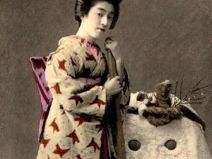 Кимоно эпохи Сёва. Ярмарка Мастеров - ручная работа, handmade.