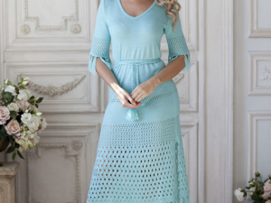 Аукцион на Эффектное ажурное платье! Старт 2500 руб.!. Ярмарка Мастеров - ручная работа, handmade.