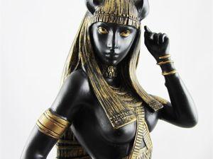 Бастет  — египетская богиня-кошка. Ярмарка Мастеров - ручная работа, handmade.