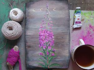 Полевые цветы. Иван-чай. Ярмарка Мастеров - ручная работа, handmade.