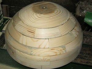 Создаем форму для изготовления абажура тиффани из дерева. Ярмарка Мастеров - ручная работа, handmade.