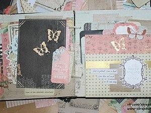 Скрапбукинг: создание странички для альбома. Ярмарка Мастеров - ручная работа, handmade.