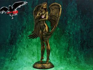 Статуэтки ангел девушка. Ярмарка Мастеров - ручная работа, handmade.
