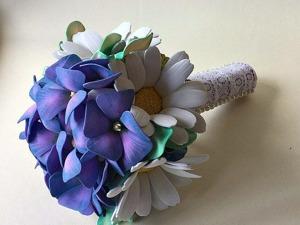 Свадебный букет-дублер своими руками. Ярмарка Мастеров - ручная работа, handmade.