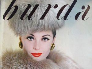 Burda — спец. выпуск — Осень — Зима 1960/61. Ярмарка Мастеров - ручная работа, handmade.