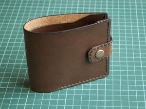 Как сшить простой кошелёк своими руками. Ярмарка Мастеров - ручная работа, handmade.