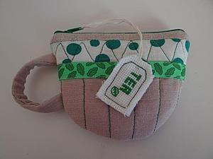 "Шьем кошелек ""Чашечка чая"". Ярмарка Мастеров - ручная работа, handmade."