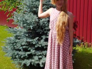 Платье в горошек из фильма «Красотка» своими руками. Ярмарка Мастеров - ручная работа, handmade.