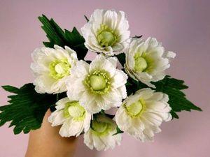 Делаем хризантему из гофрированной бумаги. Ярмарка Мастеров - ручная работа, handmade.