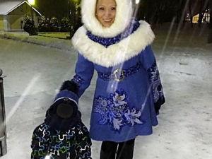Снегурочка? Нет! Пальто и капор своими руками. Ярмарка Мастеров - ручная работа, handmade.