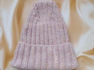 Как я полюбила шапки крупной вязки. Ярмарка Мастеров - ручная работа, handmade.