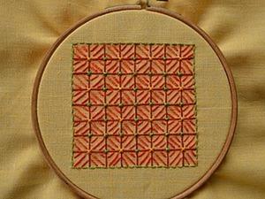 Вышивка в технике «декоративная сетка», или «Крестик для ленивых». Часть 2. Ярмарка Мастеров - ручная работа, handmade.
