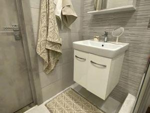 Декорирование ванной — коврик из чистого льна. Ярмарка Мастеров - ручная работа, handmade.