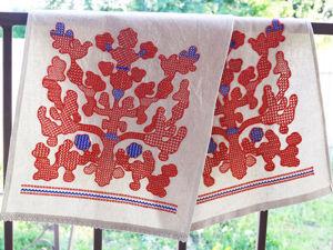 Шьем рушник со старославянской вышивкой Орловский спис. Ярмарка Мастеров - ручная работа, handmade.