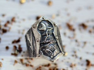 Новинка — перстень Замочная скважина. Ярмарка Мастеров - ручная работа, handmade.