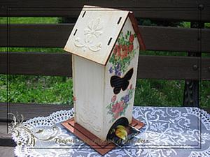 Хотите уюта на кухне? Обзаведитесь чайным домиком :). Ярмарка Мастеров - ручная работа, handmade.